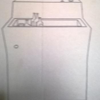 Led toog: toog met spoelbak
